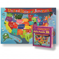 RWPKP02 - United States Jigsaw Puzzle For Kid in Puzzles