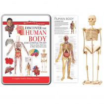 RWPTS01 - Tin Set Discover The Human Body Wonders Of Learning in Human Anatomy
