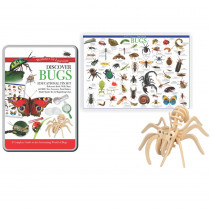 RWPTS02 - Tin Set Discover Bugs Wonders Of Learning in Animal Studies