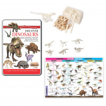 RWPTS03 - Tin Set Discover Dinosaurs Wonders Of Learning in Animal Studies