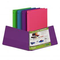 SAM11399 - Fashion Color Binder 1In Capacity in Folders