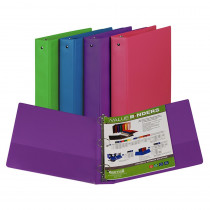 SAM11599 - Fashion Color Binder 1 1/2In Capacity in Folders