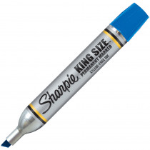 SAN15003 - Sharpie King Size Permanent Marker Blue in Markers