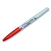 SAN16002 - Marker Vis A Vis Fine Red Wet/Erase Permanent in Markers