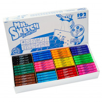 SAN1905311 - Mr Sketch Scented 192Ct Chisel Tip Markers in Markers