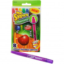 SAN1951199 - Mr Sketch Scented Twist Crayon 8 Ct in Crayons