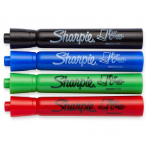 SAN22474 - Marker Set Flip Chart 4 Color Set Black Red Blue Green in Markers
