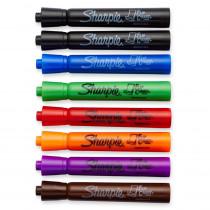 SAN22478 - Marker Set Flip Chart 8 Color Blk Rd Blu Grn Yllw Brwn Prpl in Markers