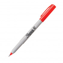 SAN37002 - Marker Sharpie Ultra Fine Red in Markers
