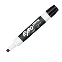 SAN80001 - Expo 2 Low Odor Dry Erase Marker Chisel Tip Black in Markers