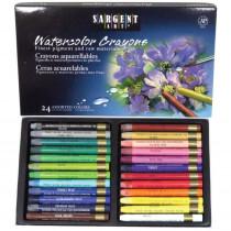 Watercolor Crayons, 24 Colors - SAR221124 | Sargent Art  Inc. | Crayons