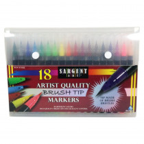 SAR221585 - Artist Brush Tip Markers in Markers