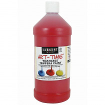 SAR223520 - Red Washable Tempera Paint 32Oz in Paint
