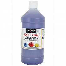 SAR223542 - Violet Washable Tempera Paint 32Oz in Paint
