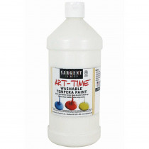 SAR223596 - White Washable Tempera Paint 32Oz in Paint