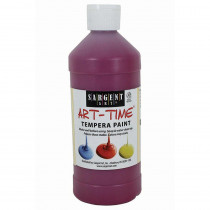 SAR226438 - Magenta Tempera Paint 16Oz in Paint