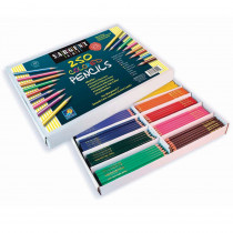 SAR227200 - Sargent Art Colored Pencils 250/Pk in Colored Pencils