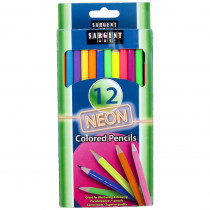 SAR227241 - Sargent Art Neon Colored Pencils in Colored Pencils