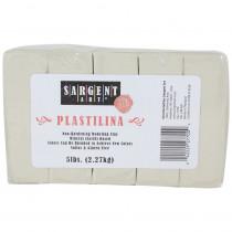 Plastilina Non-Hardening Modeling Clay, 5 lbs., Cream - SAR227700 | Sargent Art  Inc. | Clay & Clay Tools