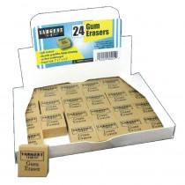Gum Erasers, Pack of 24 - SAR360001 | Sargent Art  Inc. | Erasers