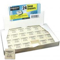 Soap Erasers, Pack of 24 - SAR360003 | Sargent Art  Inc. | Erasers