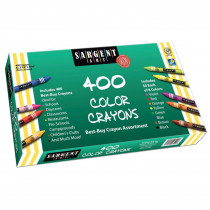 SAR553220 - Sargent Art Best Buy Crayon Assortment 400 Standard Crayons in Crayons