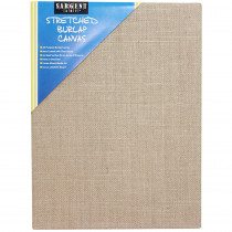 SAR902029 - Stretched Canvas 12 X 16 Burlap in Canvas