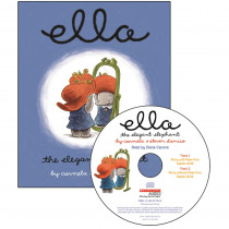 SB-9780439875899 - Ella The Elegant Elephant Carry Along Book & Cd in Books W/cd