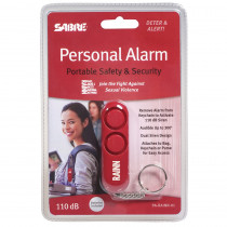 SBCPARAINN01 - Red Personal Alarm Supports Rainn in First Aid/safety