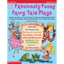 SC-0439153891 - 12 Fabulously Funny Fairy Tale Plays in Literature Units