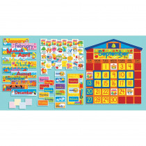 SC-0439394058 - Bulletin Board Set School House Calendar in Calendars