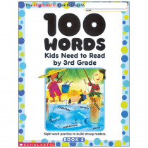 SC-0439399319 - 100 Words Kids Need To Read By 3Rd Grade in Word Skills