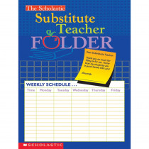 SC-0439546443 - Substitute Teacher Folder in Substitute Teachers