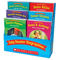 SC-0439774101 - Easy Reader Biographies in Reading Skills