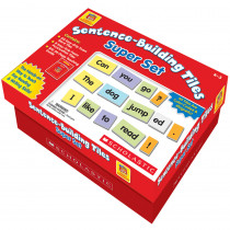 SC-0439909279 - Little Red Tool Box Sentence Building Tiles Super Set in Grammar Skills
