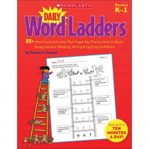SC-522379 - Daily Word Ladders Gr K-1 in Word Skills