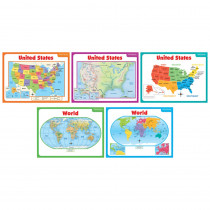 SC-541743 - Teaching Maps Bulletin Board Set in Social Studies