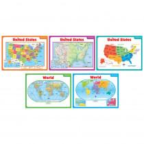 SC-541743 - Teaching Maps Bulletin Board Set in Social Studies