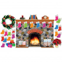SC-546913 - Holiday Hearth Bulletin Board Set in Holiday/seasonal