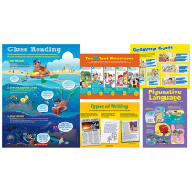 SC-804631 - Early Language Arts Toolkit 5 Piece Poster St in Language Arts