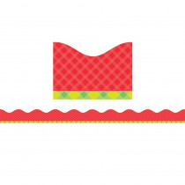 SC-812792 - Tape It Up Pretty In Plaid in Border/trimmer