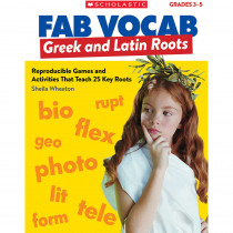 SC-815364 - Fab Vocab Greek And Latin Roots in Language Skills
