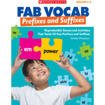 SC-815365 - Fab Vocab Prefixes And Suffixes in Grammar Skills
