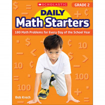SC-815958 - Daily Math Starters Gr 2 in Activity Books