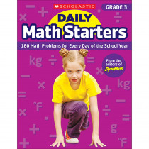 SC-815959 - Daily Math Starters Gr 3 in Activity Books