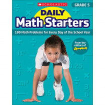 SC-815962 - Daily Math Starters Gr 5 in Activity Books