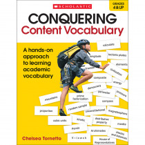 SC-817434 - Conquering Content Vocabulary in Vocabulary Skills