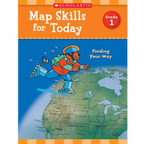SC-821487 - Map Skills For Today Gr 1 in Geography