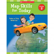 SC-821489 - Map Skills For Today Gr 2 in Geography