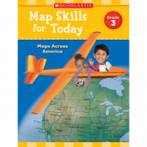 SC-821490 - Map Skills For Today Gr 3 in Geography